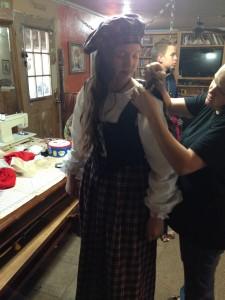 Dressing the Scottish Princess